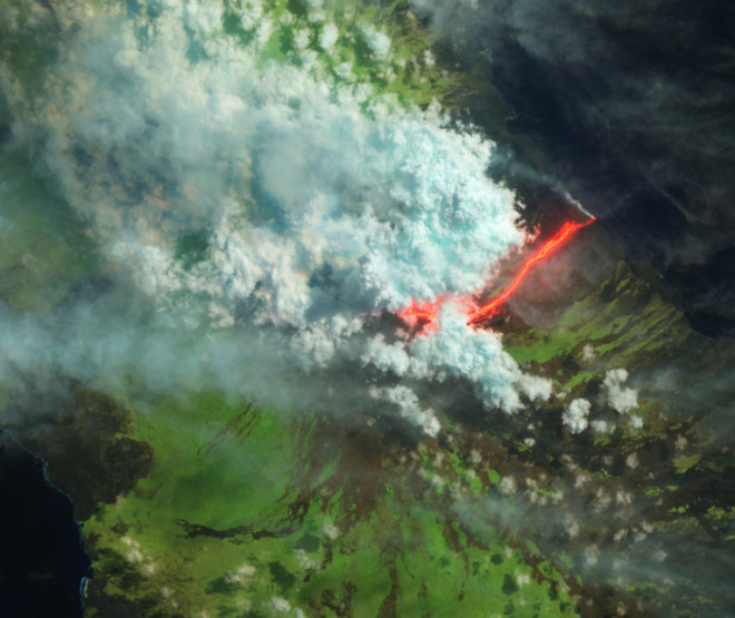 Eruption Update: Japan, Reunion, Galapagos, and Chile