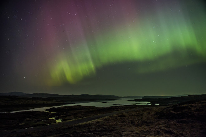 The 'Aurorasaurus' Maps This Year's Spectacular Auroras