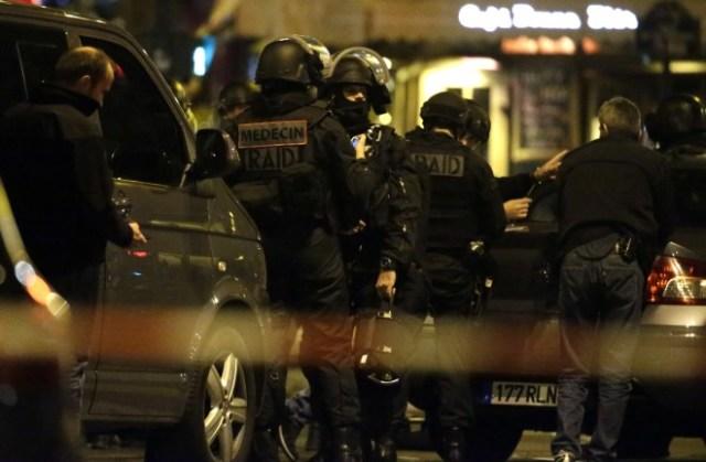 Following the Paris Attacks From Benjamin Cazenoves' Facebook Feed