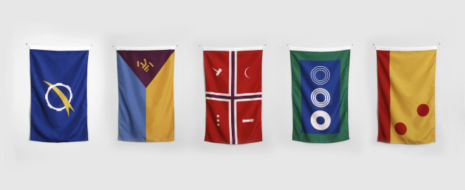 Star Wars Nerd Designs Killer Flags for More Than 100 of the Saga's Planets