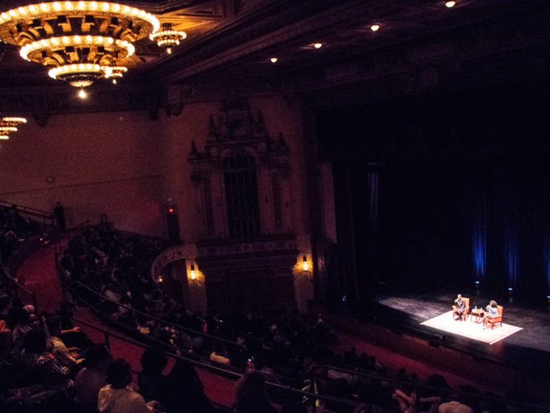 A performance of The Read Live in San Francisco's Nourse Theater, June 11, 2016.