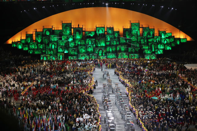 Rio Throws An Upbeat, Gold-Medal Olympic Dance Party