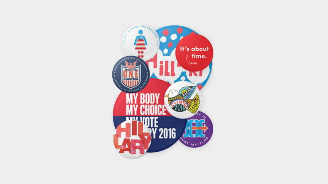 Thanks to Hillary, the Humble Campaign Pin Is Making a Big Comeback