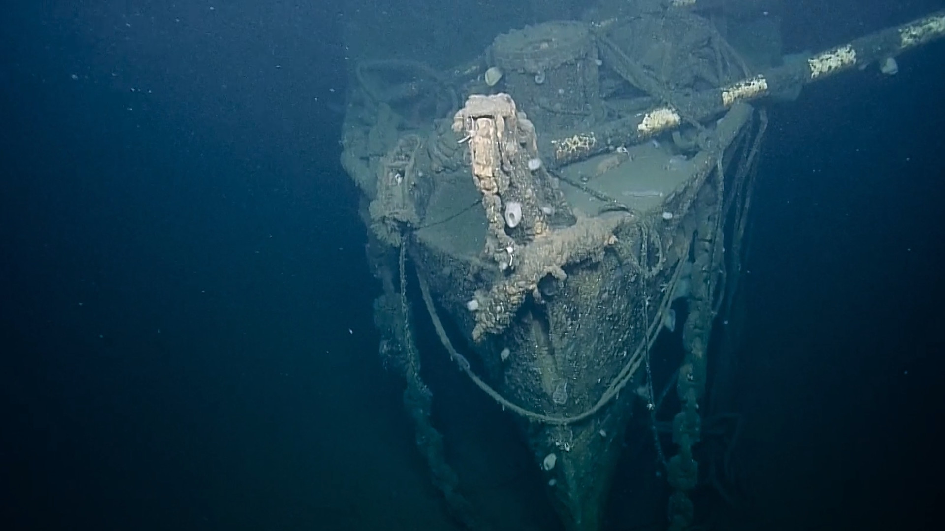 Join Scientists As They Explore The Sunken Uss