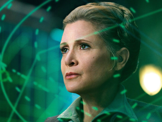 Cantina Talk: Carrie Fisher Won't Star in Star Wars: Episode IX After All