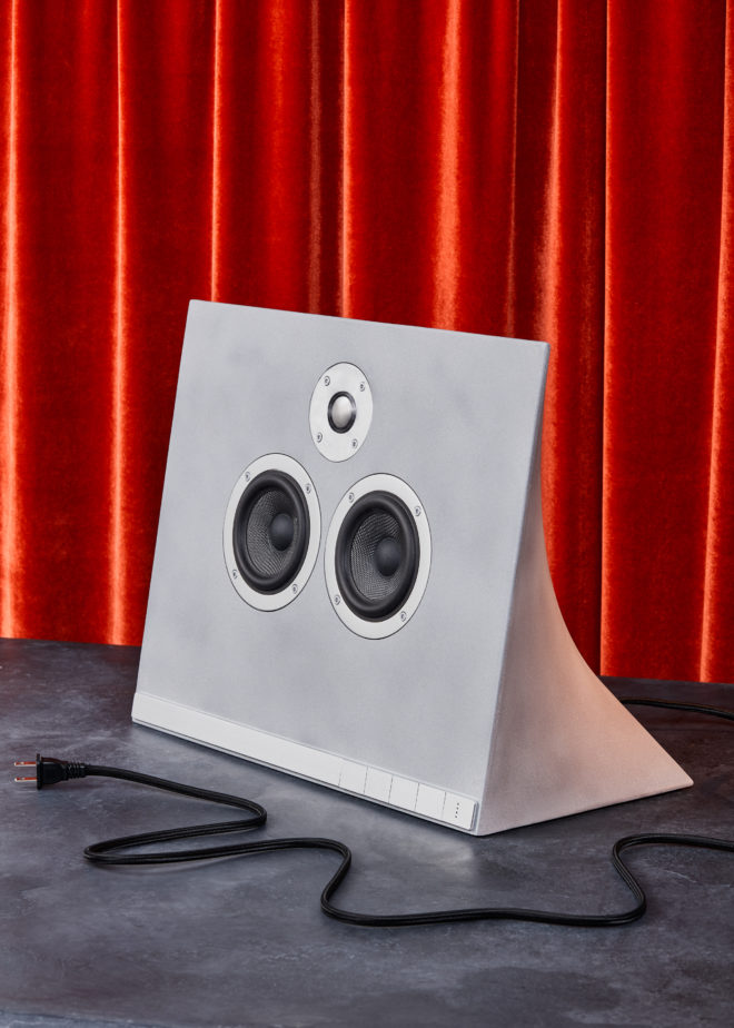 This Beautiful Speaker Is Made of Concrete. Yes, Concrete