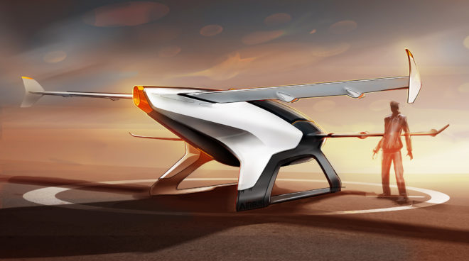 How Airbus Dreamed Up the Wild Design for Its Flying Car