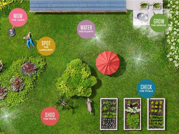 Vous rêvez d'un jardin connecté qui ressemble à celui-ci?