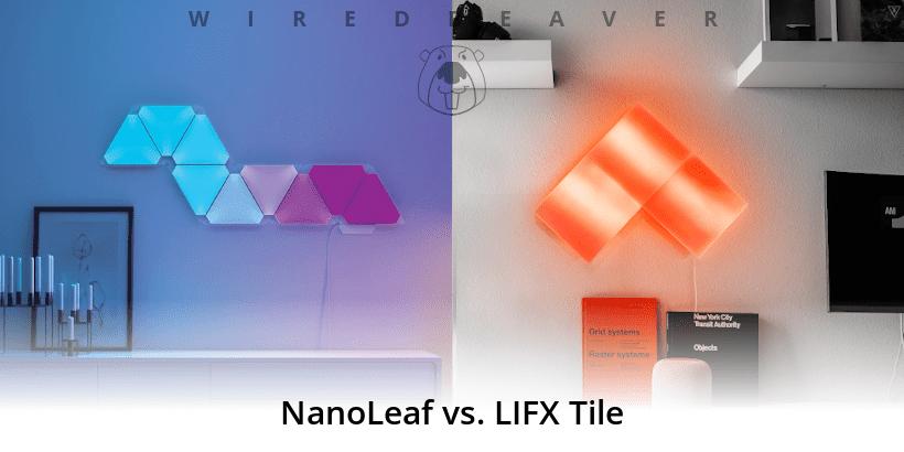 nanoleaf vs lifx tile wired beaver