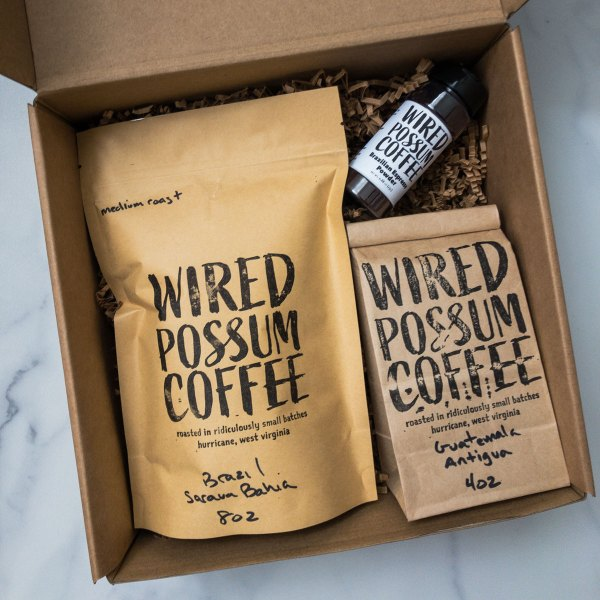 A Very Nice Gift Set from Wired Possum Coffee