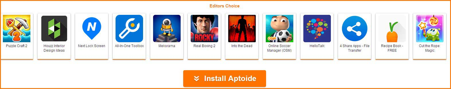 Aptoide Download and Install for PC