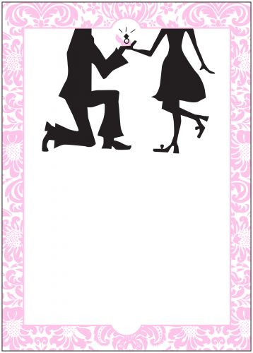 Cheap Pocket Wedding Invitations