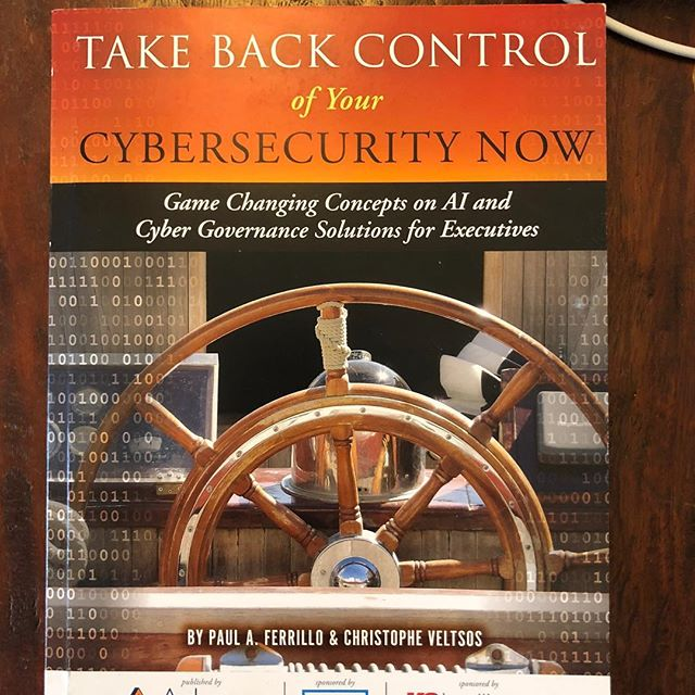 The things you have to stay on top of these days. #security #cyber