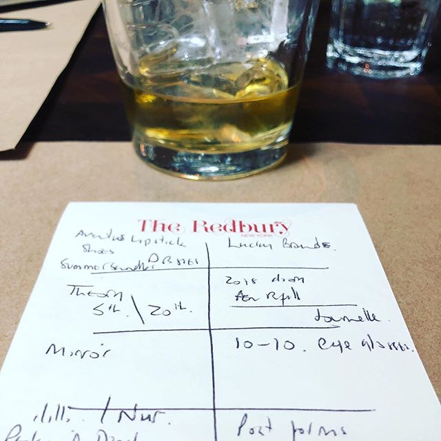 Working on a plan.... #whisky