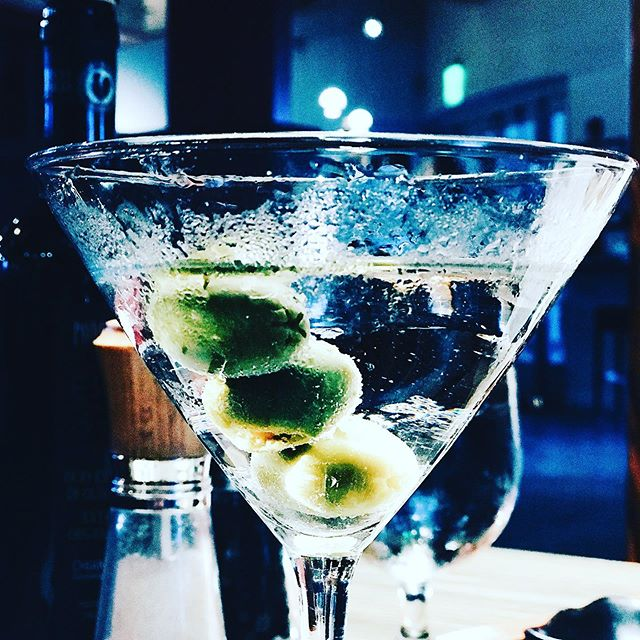Martini, shaken, not stirred. You know the deal.