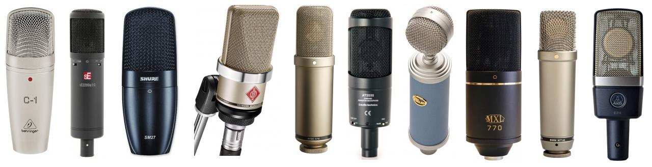 The Top 10 Best Microphones for Recording Vocals