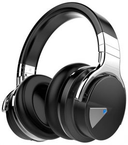 A beautiful pair of over-ear headphones with Bluetooth under fifty dollars