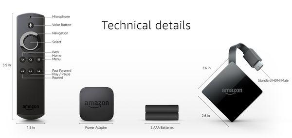 Remote Box Stick Voice Tv Amazon Alexa Fire