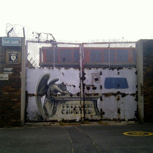 Arte urbano Woodstock-