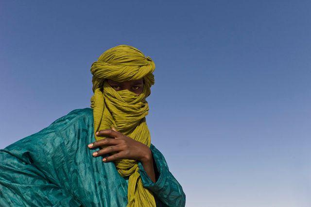 Tuareg en la pasada edición del Festival au Desert. Fuente: Ruyé Yaakov.
