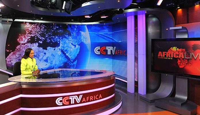 Plató de Noticias de Africa presentado por Beatrice Marshall
