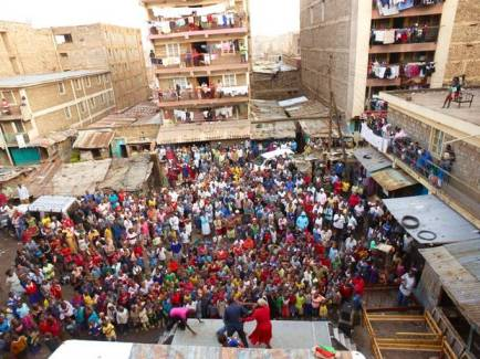 Audiencia de la obra Ni Sisi. Foto: SAFE