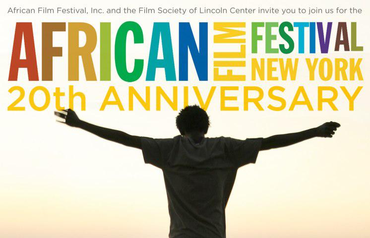 Cartel del 20 aniversario del Festival de Cine Africano de Nueva York