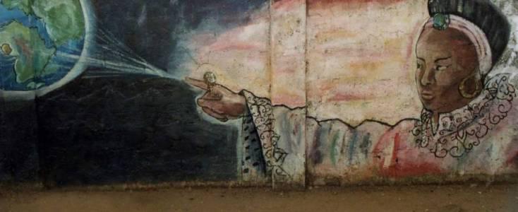 Mural en Freetown. Fuente: Brand Sierra Leone