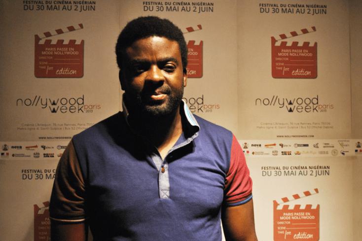 Kunle Afolayan, director de Phone Swap, mejor película en la Nollywoodweek de París. Foto: Sebastián Ruiz
