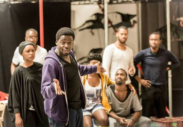 El actor Daniel Kaluuya. Foto: Johan Persson/Young Vic Theatre.