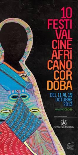 Cartel de la 10ª edición del Festival realizado por la hispano-sudanesa Dar Al Naim Mubarak.