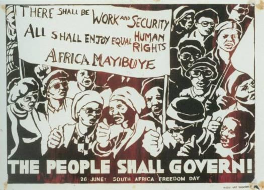 Arte de protesta: The South African Poster Movement