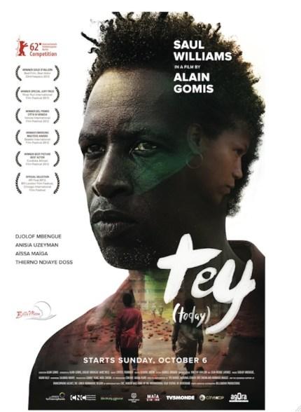Cartel de la película Tey, dirigida por Alain Gomes.