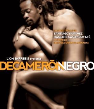 Cartel del espectáculo 'Decamerón Negro'
