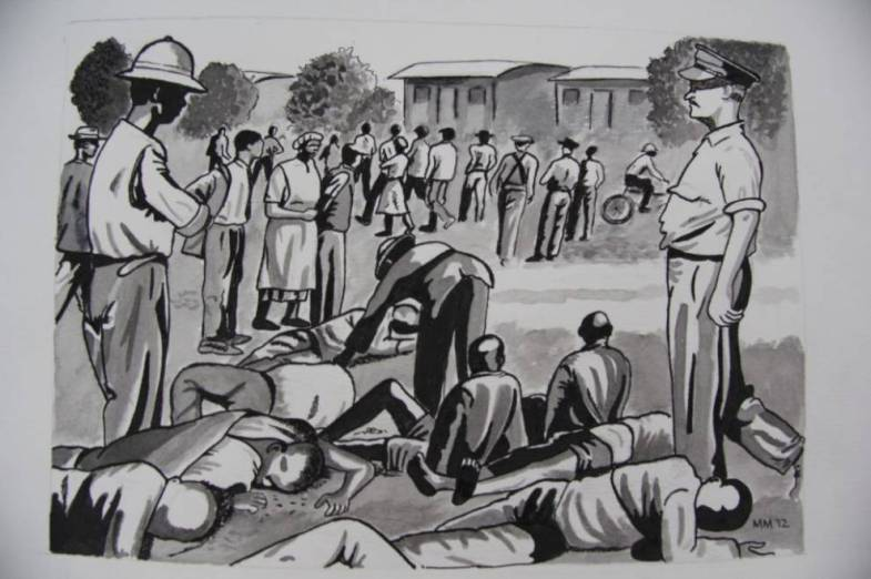 """March 1960"" (Sharpeville)"