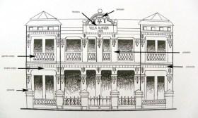 dessin facade villa Ajavon avec voc archi