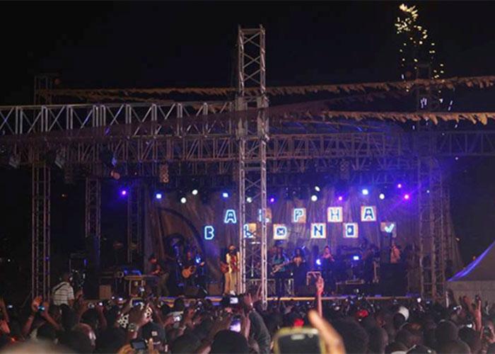 Alpha Blondy durante el concierto de clausura del MASA 2014. © MASA 2014