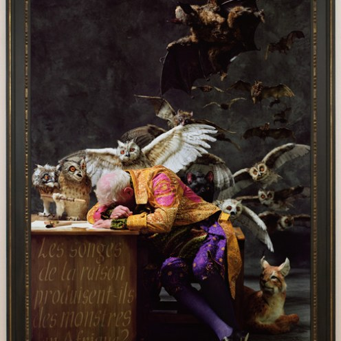 Yinka Shonibare, MBE. The Sleep of Reason (Africa), 2008