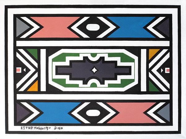Abstract V 2010 - Esther Mahlangu
