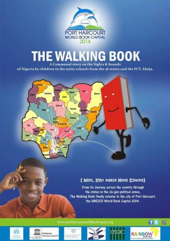 Cartel de The Walking Book