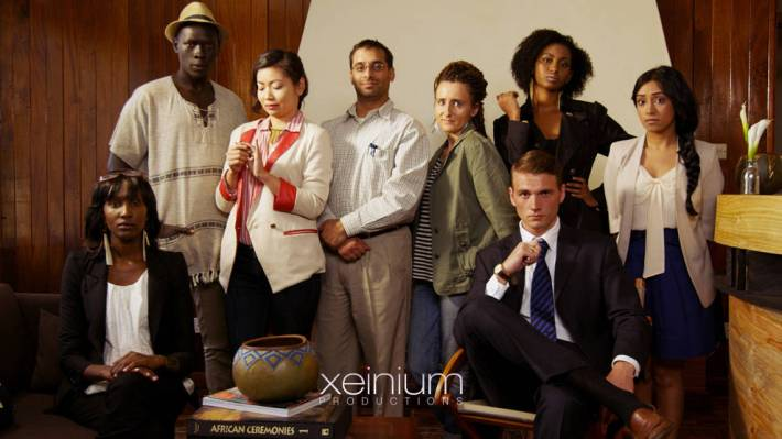 "Actores de la serie ""The samaritans"""