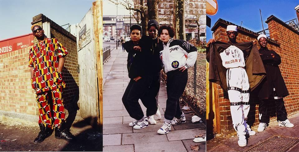 Norman 'Normski' Anderson fué parte de la escena musical hip hop de 1980. Fotografió la cultura juvenil británica para revistas como I-D o Vogue. EL Hip-Hop era visto como una expresión moderna de conciencia negra. Combinaba elementos deportivos con  detalles que representaban la herencia africana como las telas del oeste africano o el kente.
