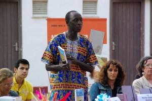 Kalilu Jammeh. Fuente: Blog de la organización del autor