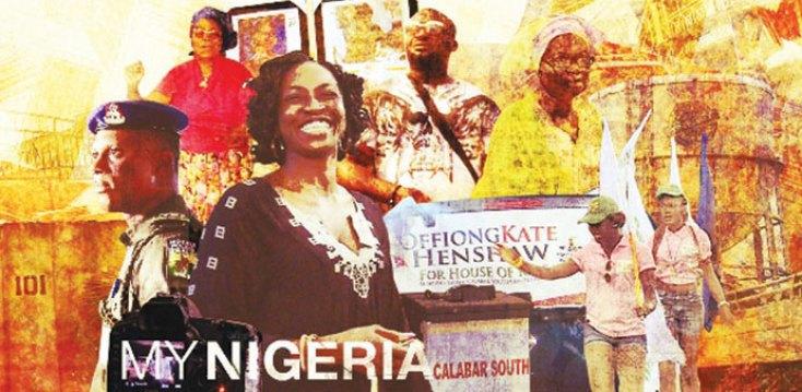 Una de las imágenes utilizadas por AlJazeera para promocionar la serie My Nigeria.