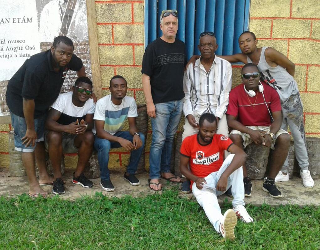 Foto cortesía del equipo del documental Orígenes y descendientes dirigido por Pedro Mba Ndong