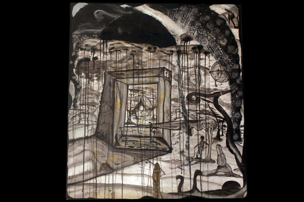 """Sol negro"", de Justo Alioundine Nguema Pouye."