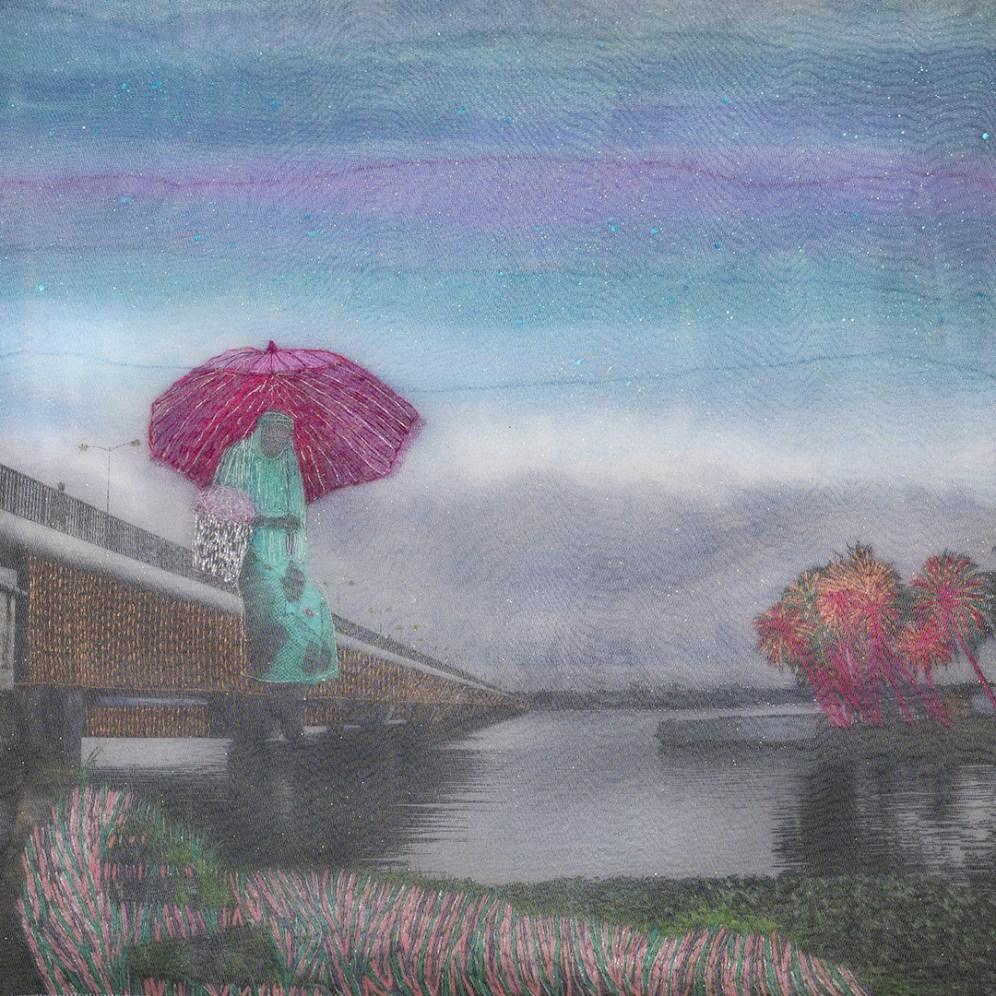 'Cruzando ese puente', Albahian (2018). J. Choumali
