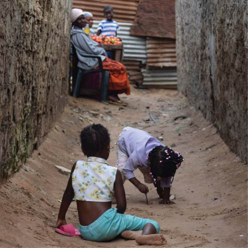 Calles de Mafalala, en Maputo (Mozambique) / Fotografía cedida por el arquitecto Remigio Chilaule.