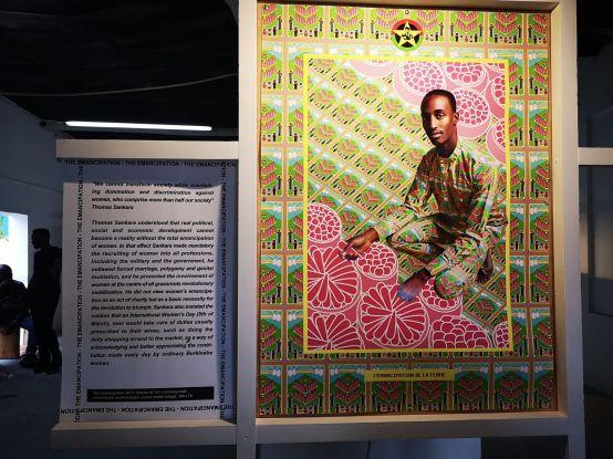 Exposición sobre Sankara