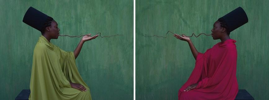 'Beyond the border', Maïmouna Guerresi (Italia-Senegal). © Maïmouna Guerresi, cortesía de Mariane Ibrahim Gallery.